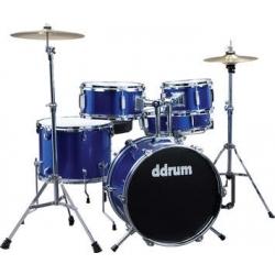D1 - 5 Parça Junior Davul Seti - Police Blue