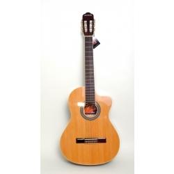 AC965H - Cutaway Klasik Gitar (Naturel Sedir Görünüm)