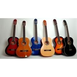 AC965 - 39'' Klasik Gitar (Kırmızı)