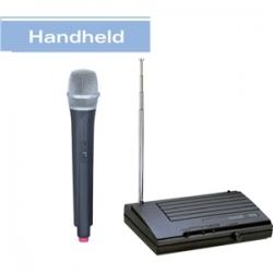 VHF-18 - Kablosuz El Mikrofonu