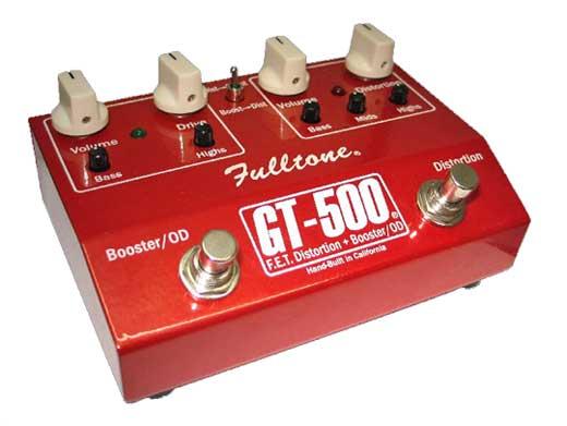 GT-500 Hi-Gain Distortion