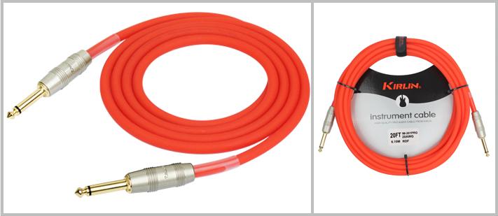 IM201PRG - 6 Metre Enstrüman Kablosu - Kırmızı